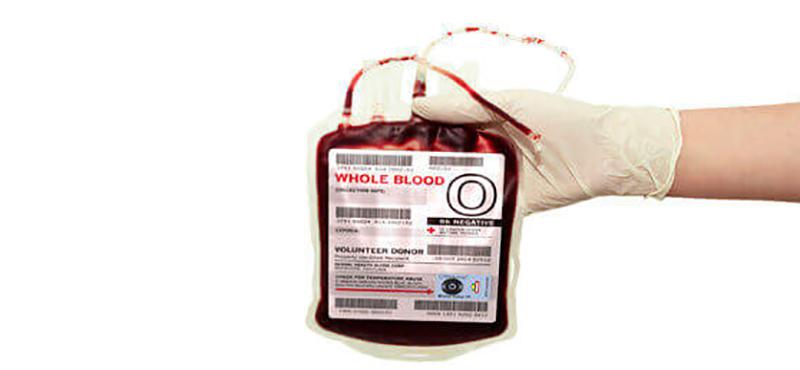Etiqueta para Bolsa de Sangue - 1