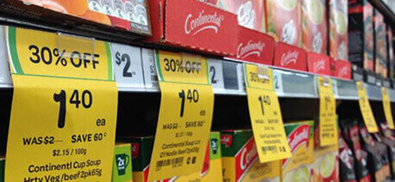 Etiqueta Tag Gôndola Supermercado - 1