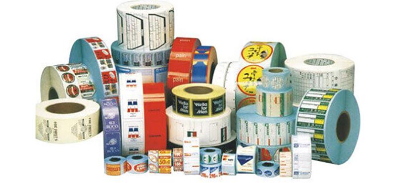 Etiquetas Adesivas em Rolo - 1