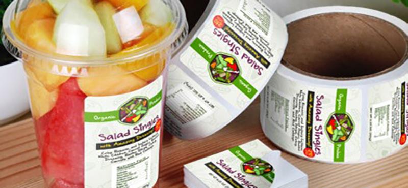 Etiquetas Adesivas para Alimentos - 1