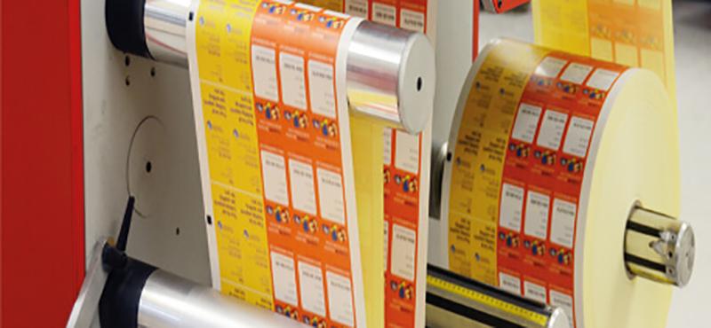 Fábrica de Etiquetas Adesivas - 1